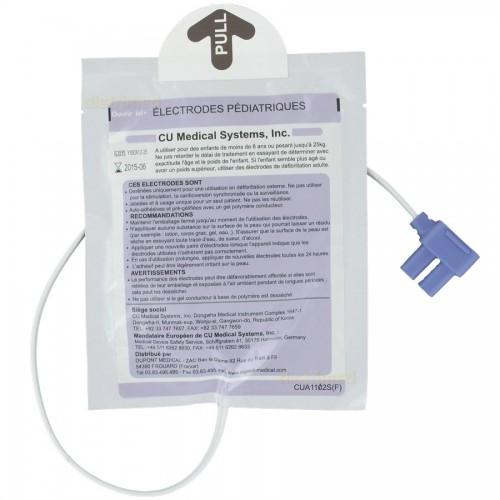 Electrodes enfant pour défibrillateur Colson Def-NSI
