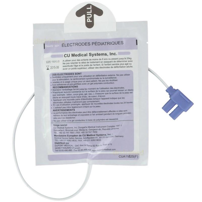 Electrodes adulte pour défibrillateur Colson Def-NSI
