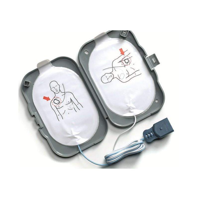 Etui 2 électrodes de défibrillation FRx