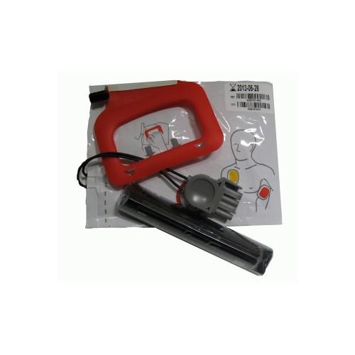 Kit électrodes et batterie Lifepak Cr Plus Physio Control 1 Paire d'Electrodes