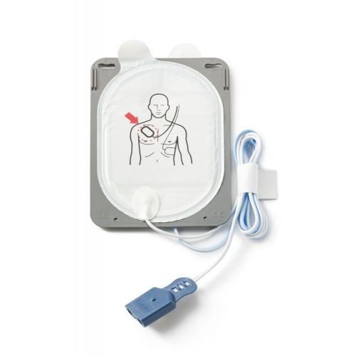 Electrodes défibrillation FR3 (1 paire)